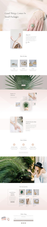 珠宝首饰类网站就该这么设计!