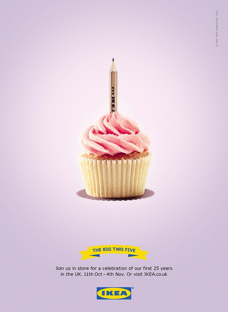 简约美!宜家创意广告海报设计