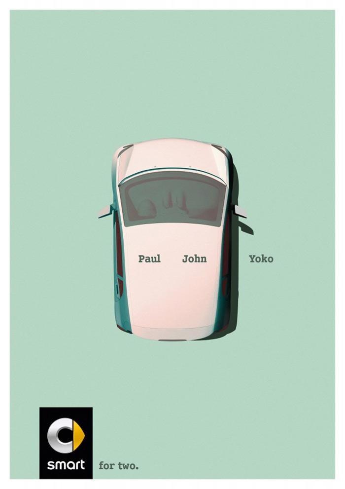 与众不同!汽车品牌海报竟然能如此有趣