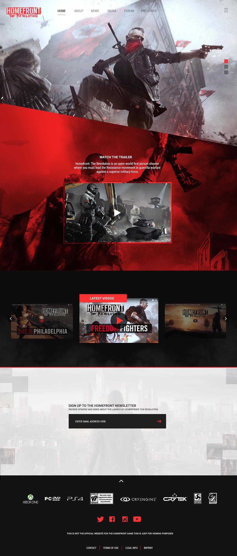 游戏类网页就该这样设计!