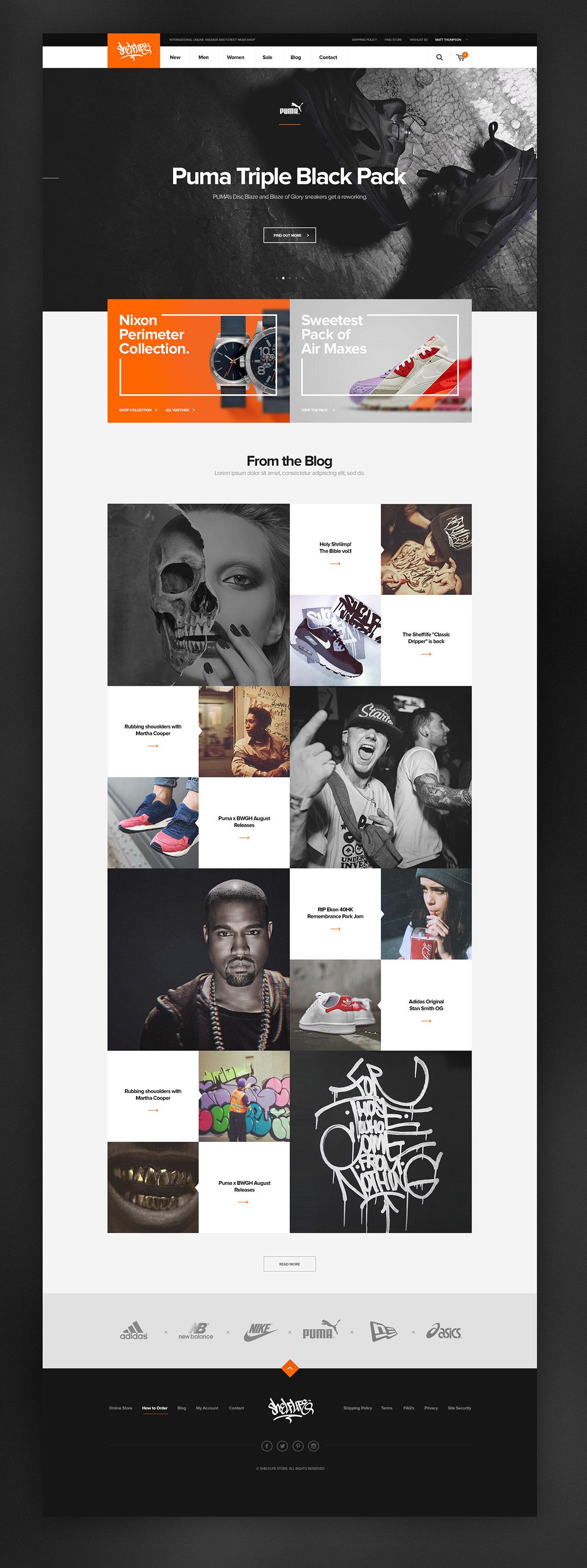 12个视觉效果出众的概念网页设计