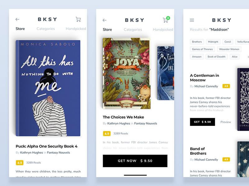 随时随地想看就看!12款阅读类App设计