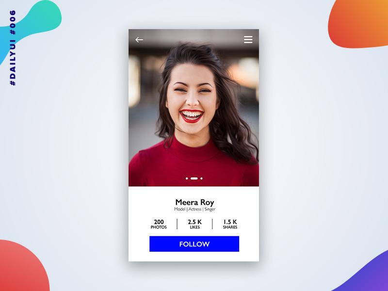极具个性的12款App用户中心界面设计