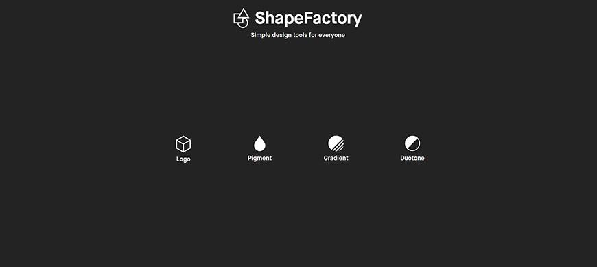 设计神器ShapeFactory!LOGO、Duotone图片一键生成