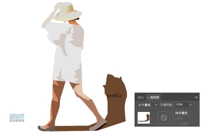 AI+PS教程!教你绘制异国风情午后阳光小巷插画