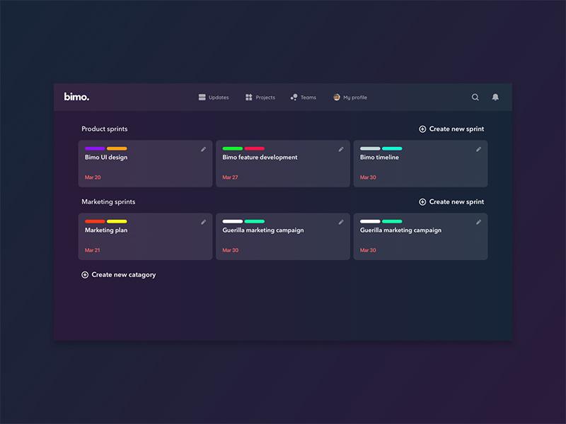 团队合作!12款任务协作界面设计