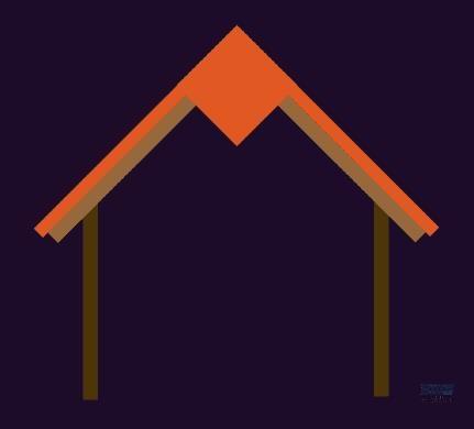 AI教程!手把手教你绘制圣诞节专属你的小屋