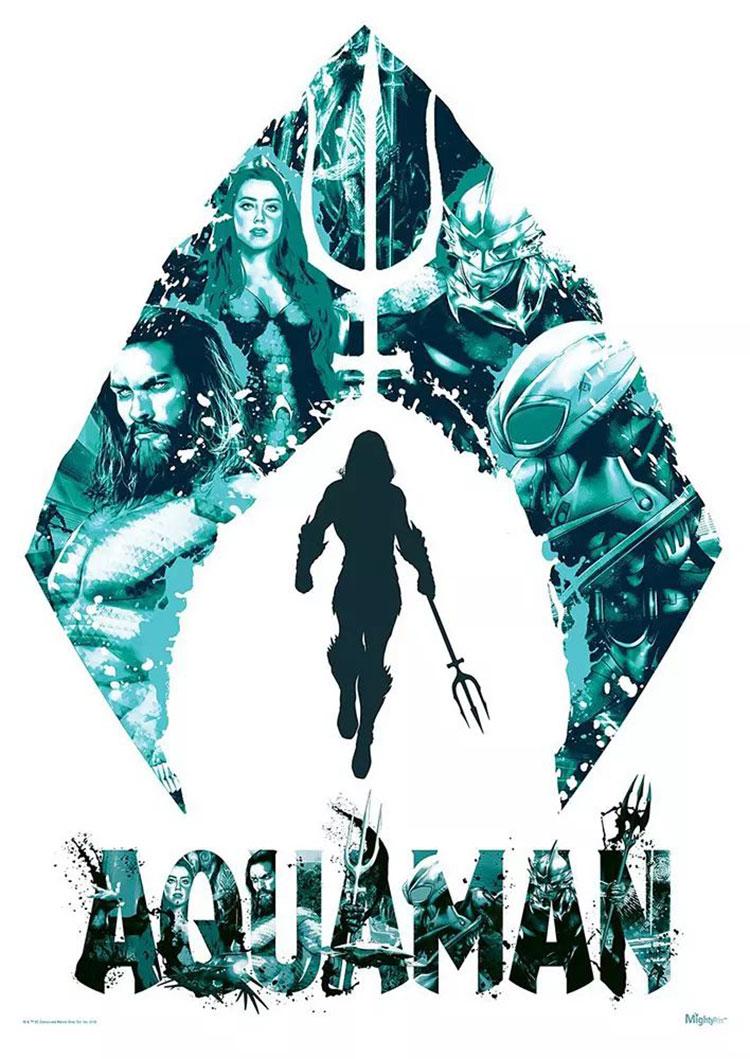 电影《海王》正式版+角色版海报