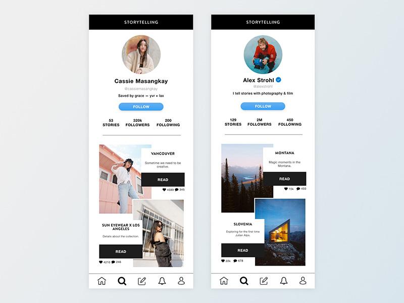 让用户中心更精致的12种设计形式