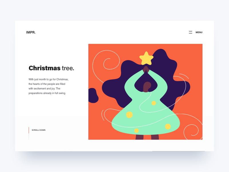 12款圣诞主题网页头图设计