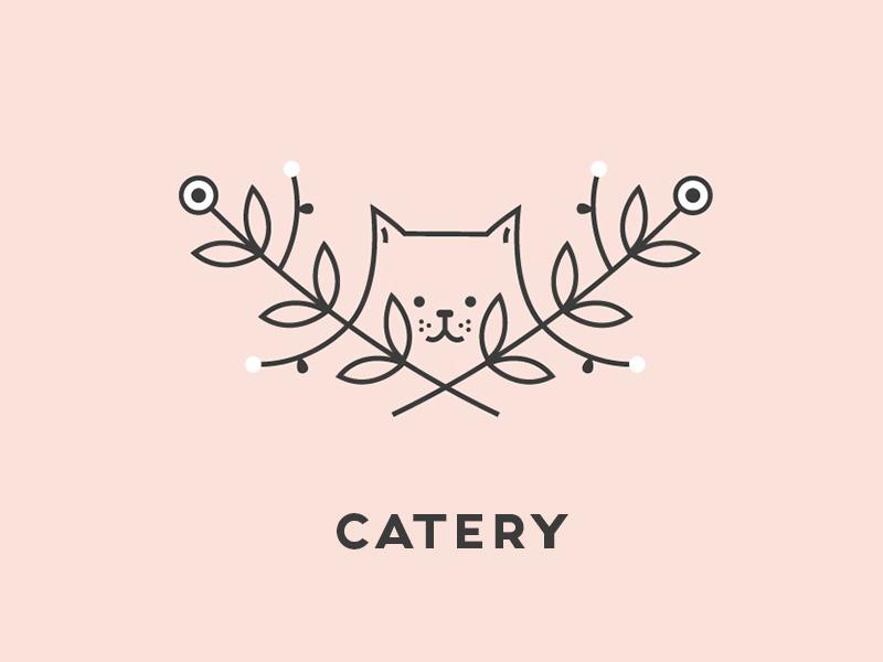 一起学猫叫!18款猫元素Logo设计