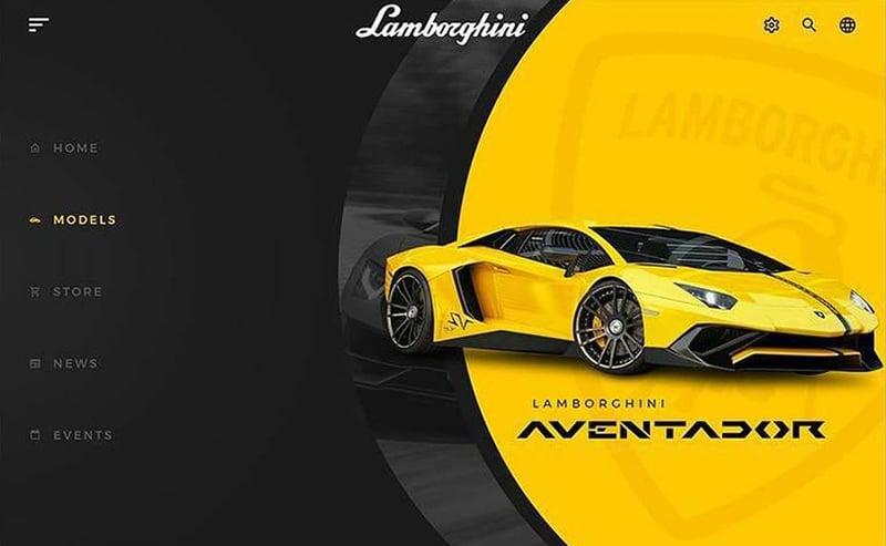 速度与激情!20个车产品的Banner设计