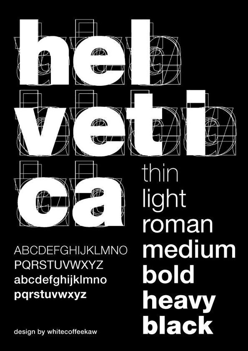 黑底白字海报如何设计更出彩?