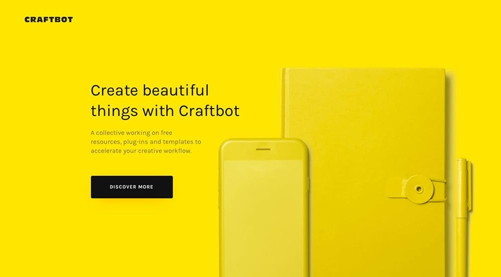 亮丽黄色在Banner设计中的正确打开姿势!