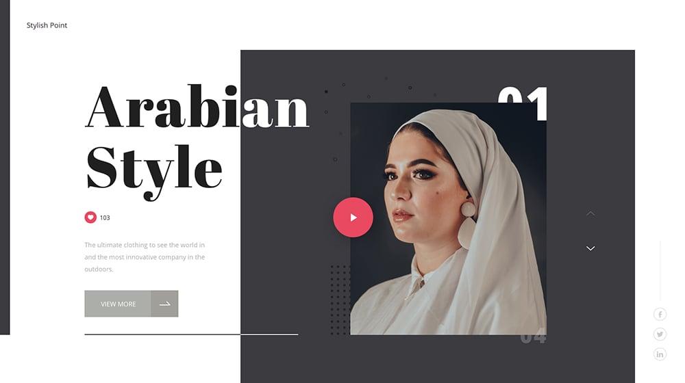 18个不同风格的网页头图Banner设计!