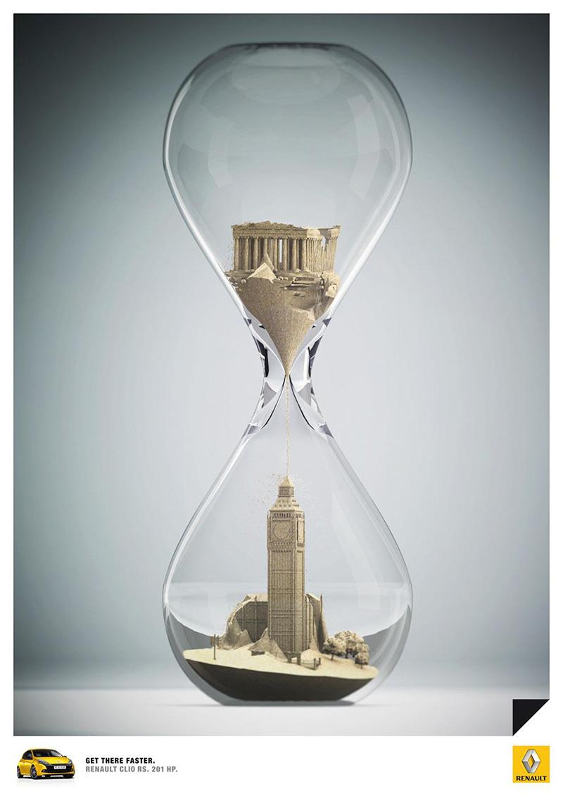 创意无限!雷诺产品广告海报设计