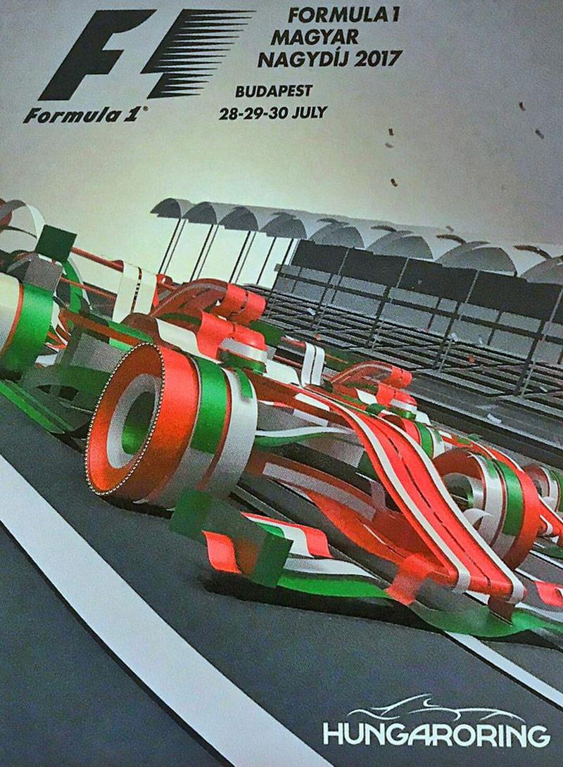 燃!16款赛车主题插画海报