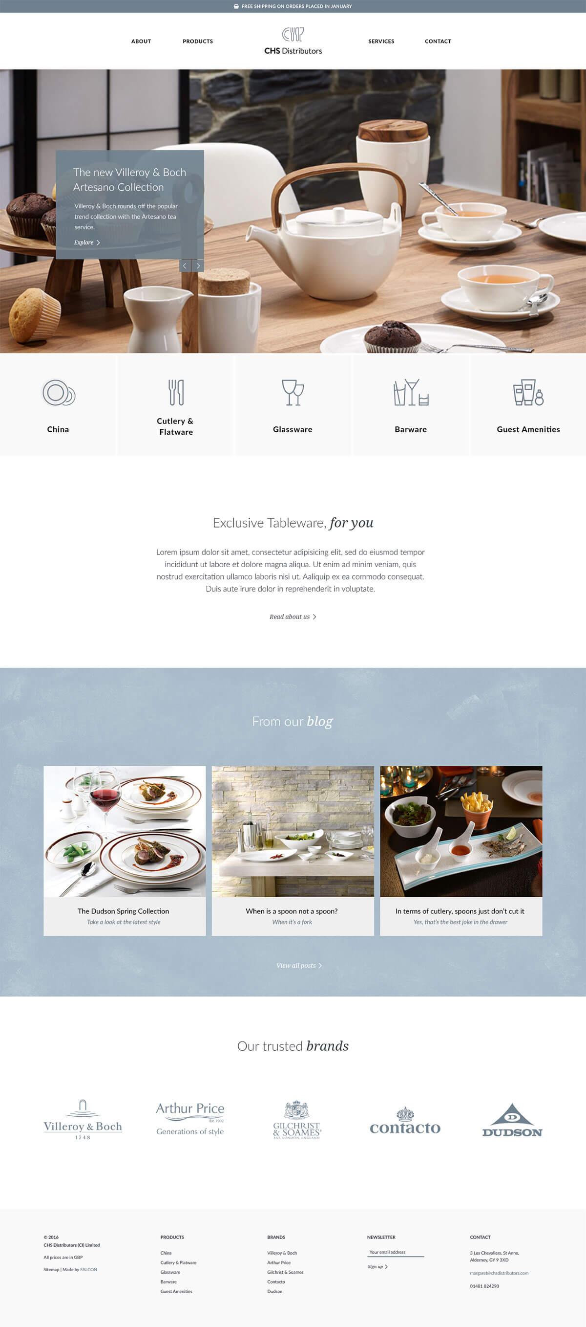 如何设计一款精致高端的网站首页