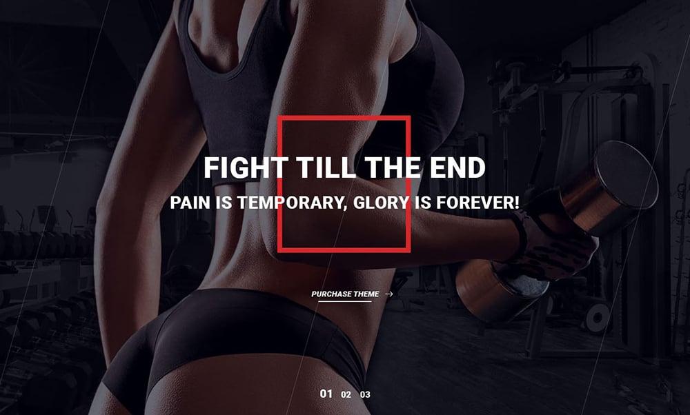 Keep Fit! 20个健身类Banner设计