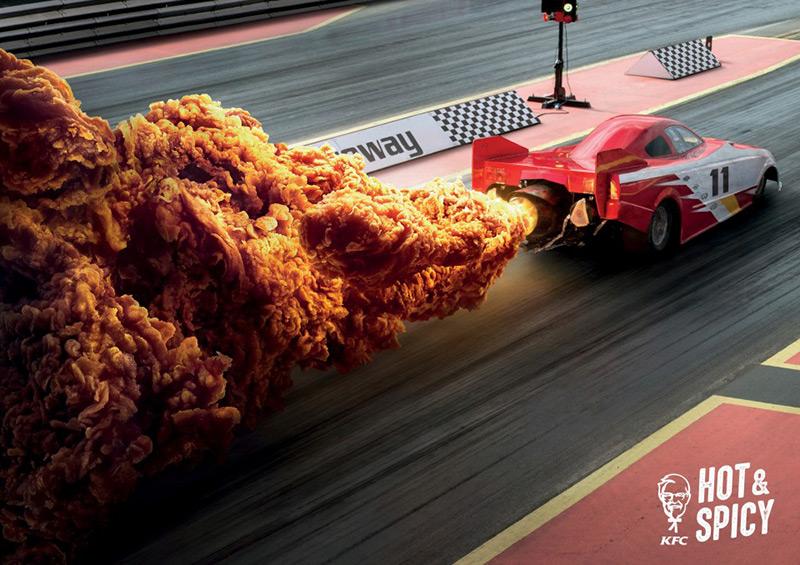 12张KFC创意广告海报