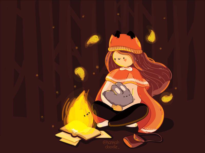 纯真时代!16款灵动的图书儿童插画