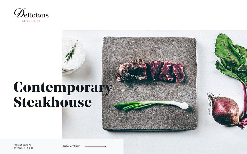 食肉系!18个生猛肉类Banner设计