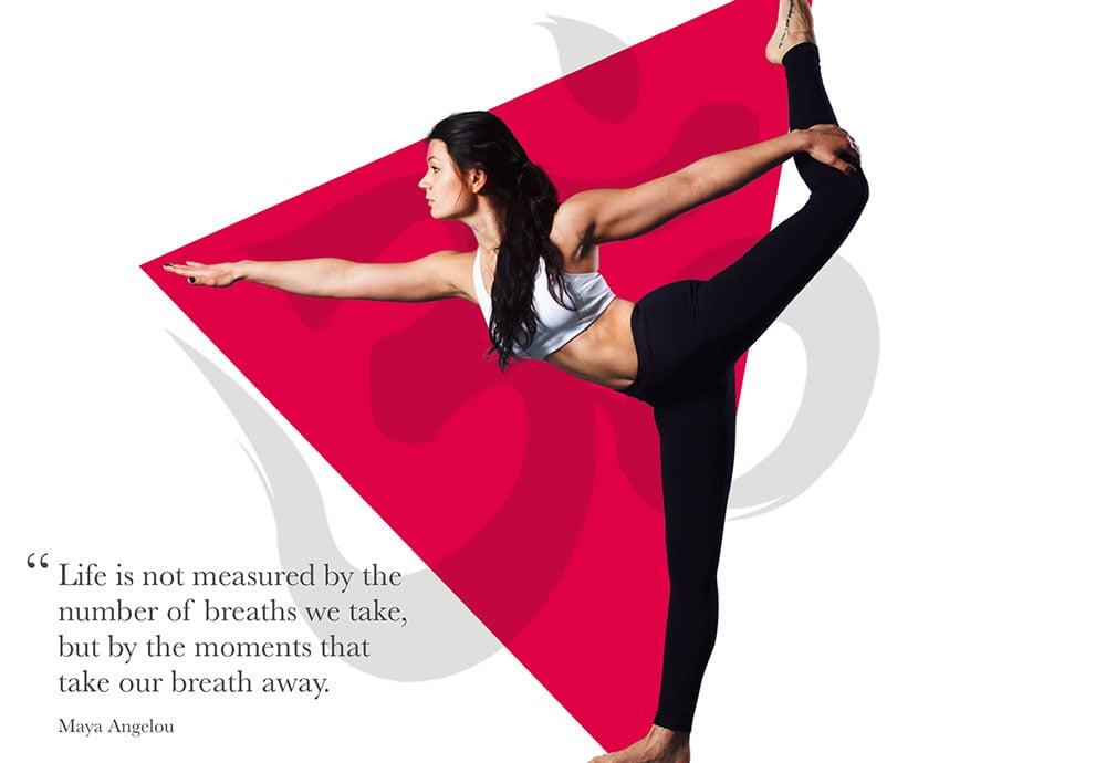 周末时光!是时候上瑜伽Banner了