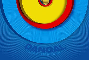 电影海报中,RAJ KHATRI对圆形的应用