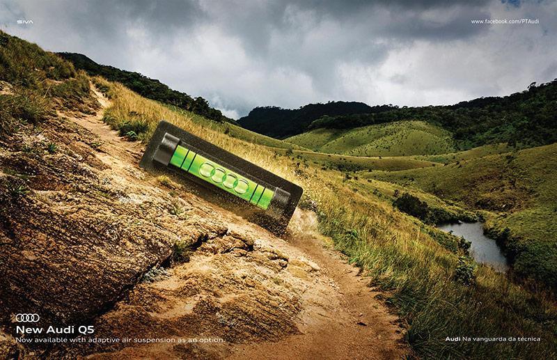 16款奥迪广告海报设计