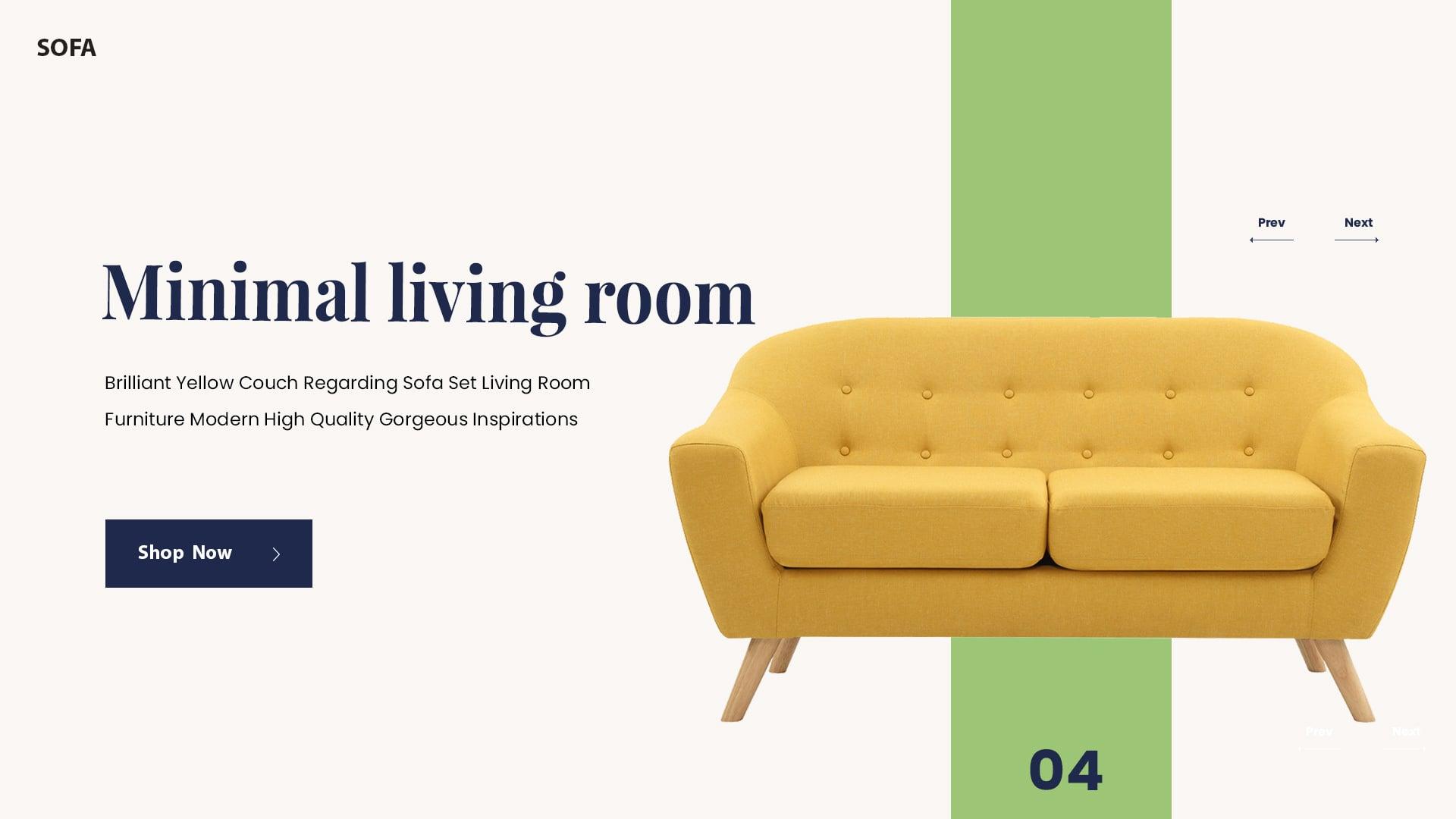 品位!20个欧美系沙发Banner设计