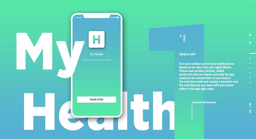 关爱健康!16个医疗类Banner设计