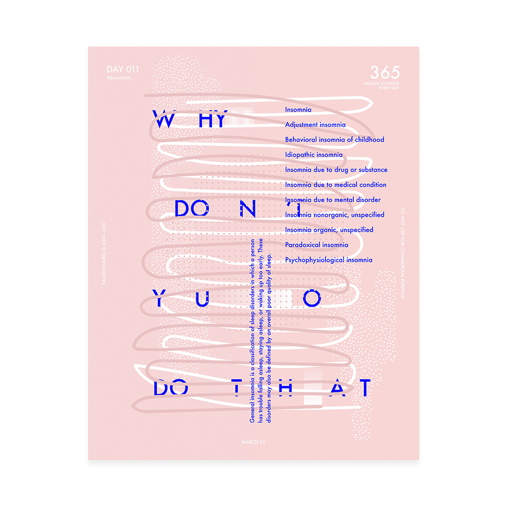 个性海报!20款Vasjen Katro设计作品