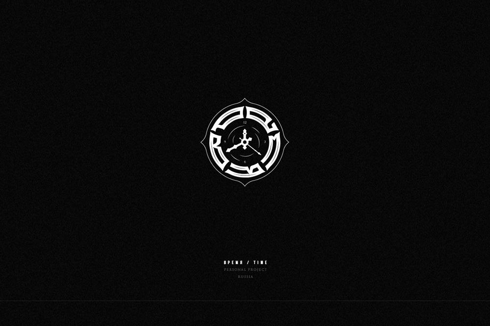 暗黑Goth!23款哥特字体Logo设计