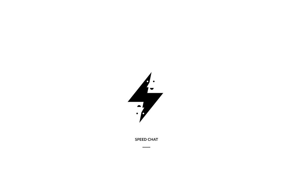 趣味正负形!13款黑白剪影Logo设计