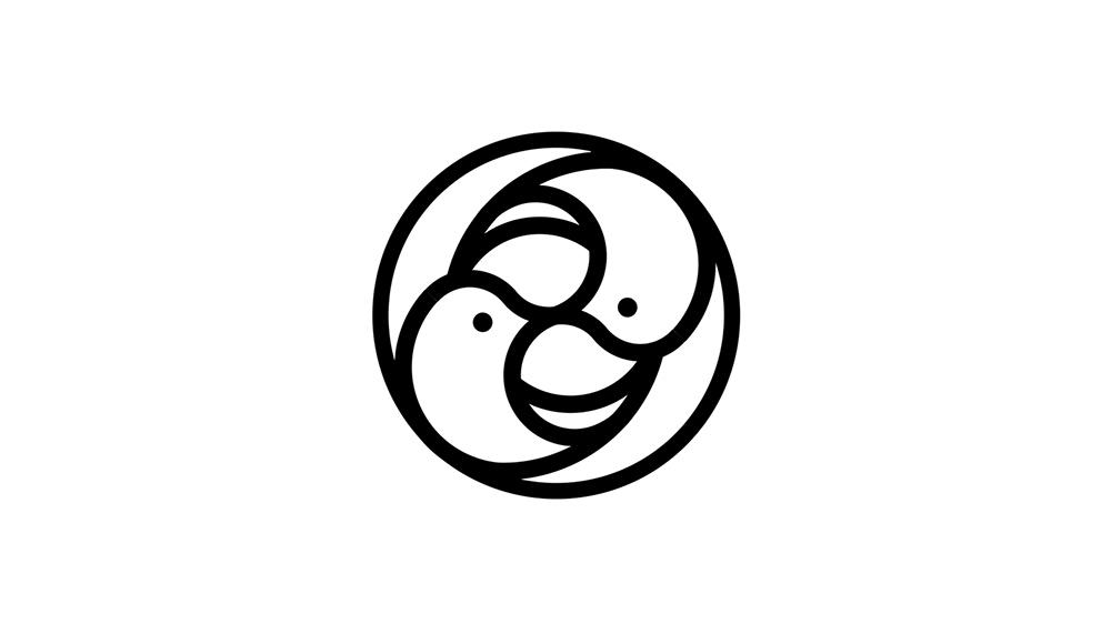 简明几何!38款创意图形Logo设计