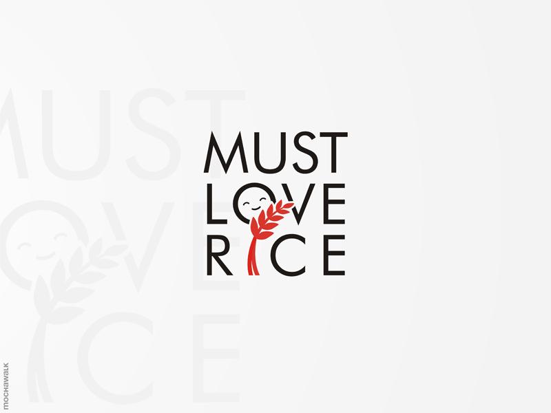 粒粒喷香!20款米饭元素Logo设计