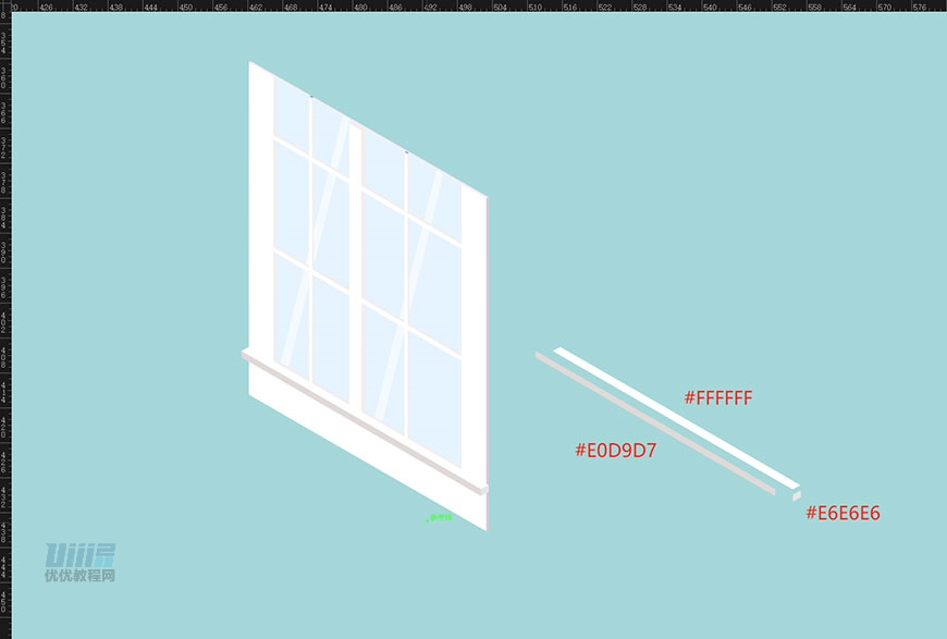 AI教程!超详细步骤教你绘制2.5D美式风格小别墅