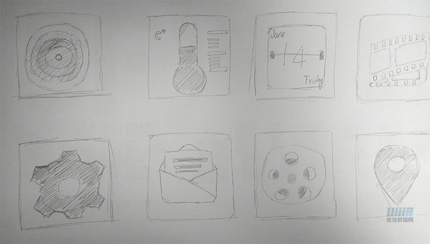 PS教程!手把手教你制作轻拟物风格手机图标