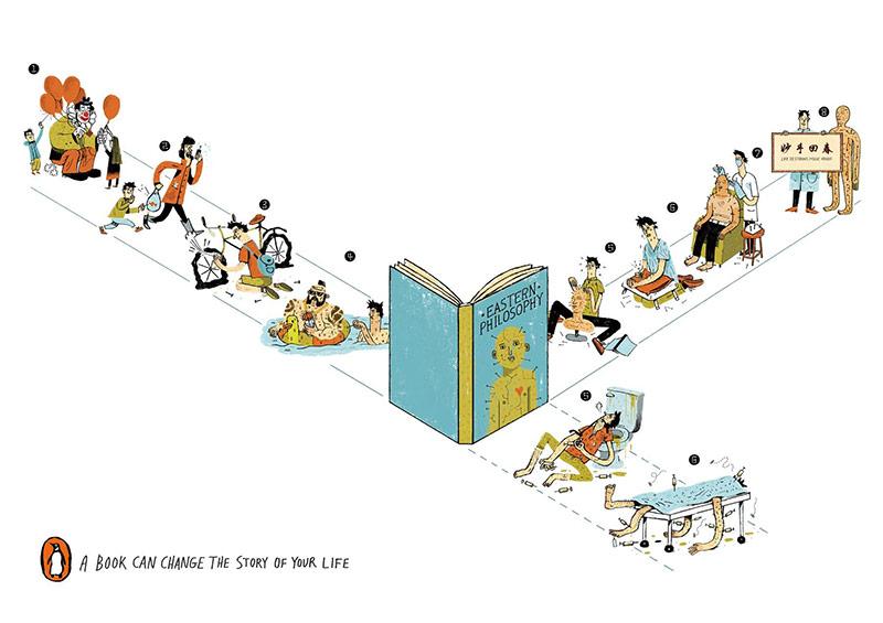 创意想法!16款企鹅出版社商业海报