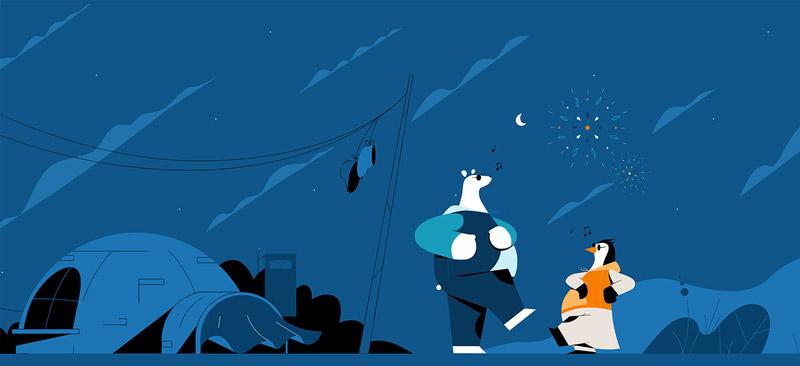奇思妙想!9款表现力十足的插画