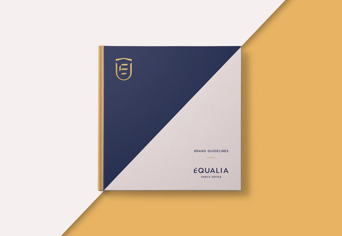 商务大气的金融类品牌VI设计