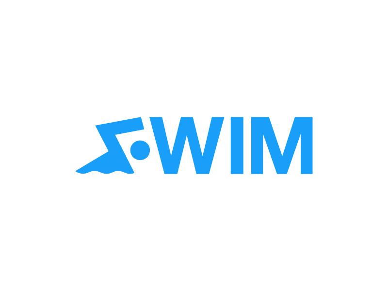 乘风破浪!30款游泳元素Logo设计