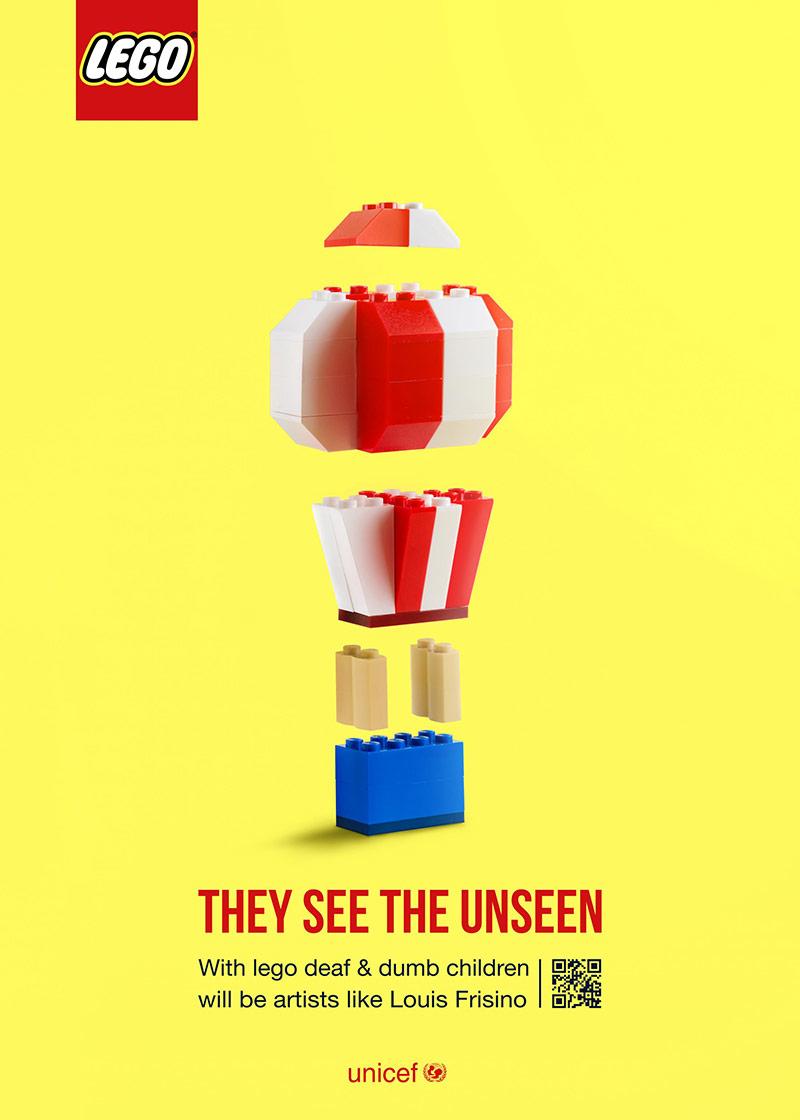 想象无限大!12张乐高品牌海报设计