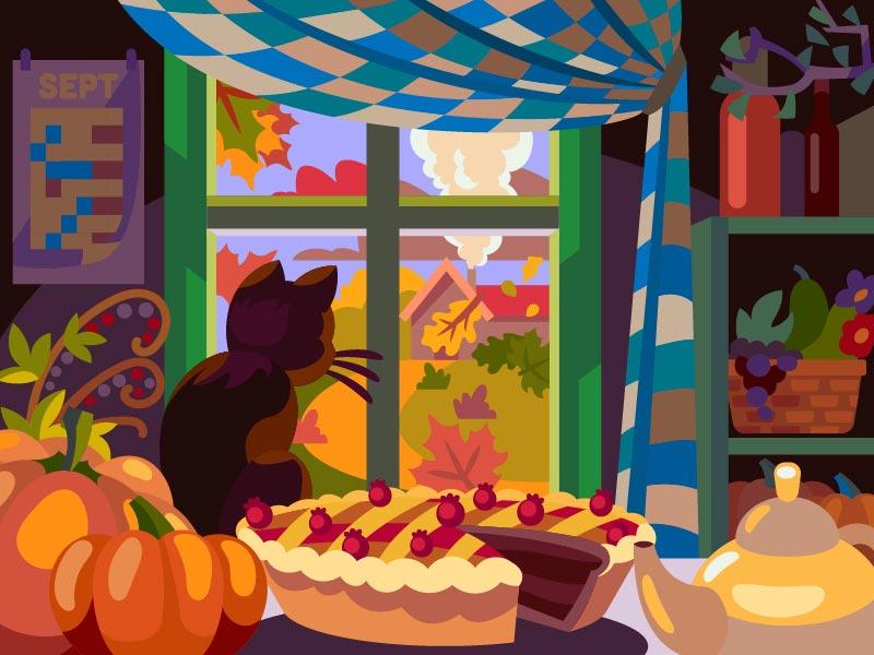 色彩搭配指南!12款数码风格插画