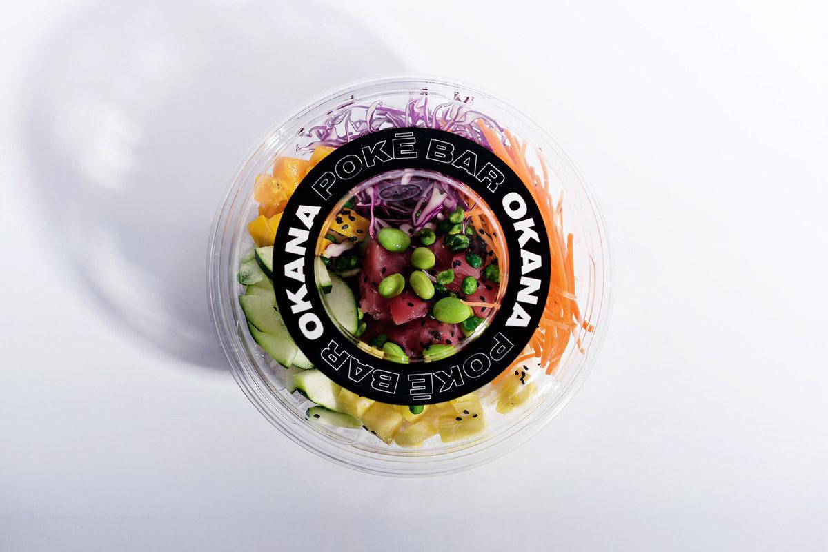 活力有机!轻食沙拉餐厅VI设计