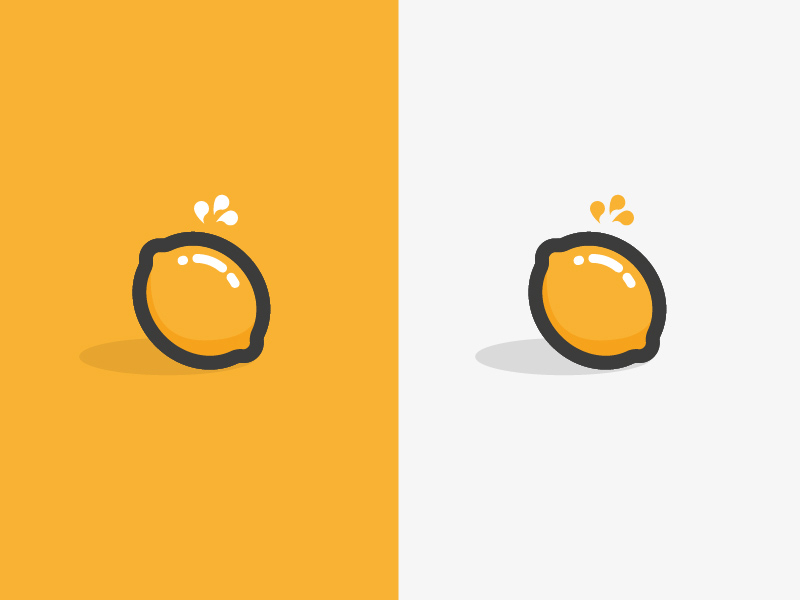 酸酸柠檬精!20款柠檬元素Logo设计