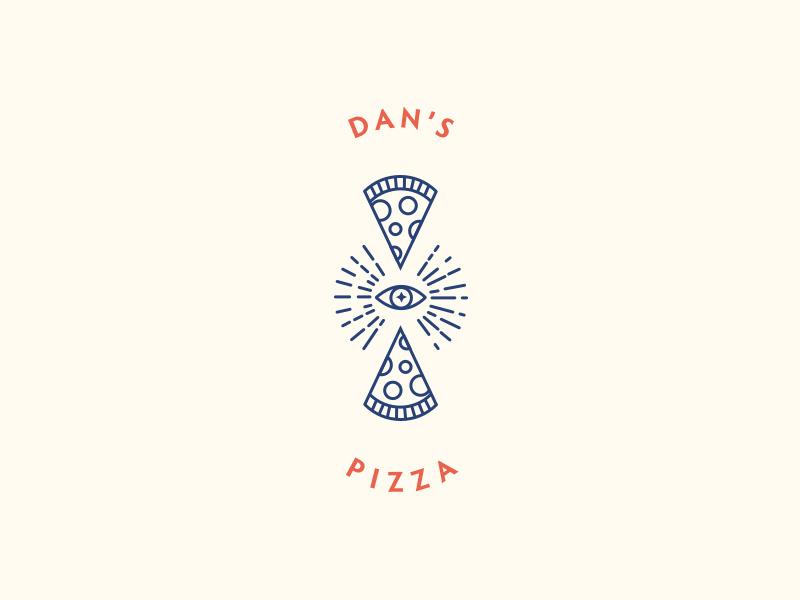 快餐美食!24款披萨元素Logo设计