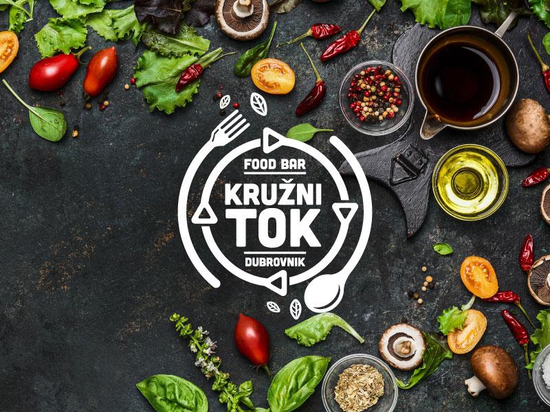 健康轻食!16款沙拉元素Logo设计