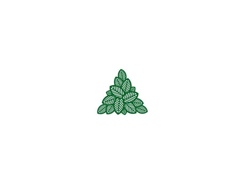 稳固几何!32款三角元素Logo设计