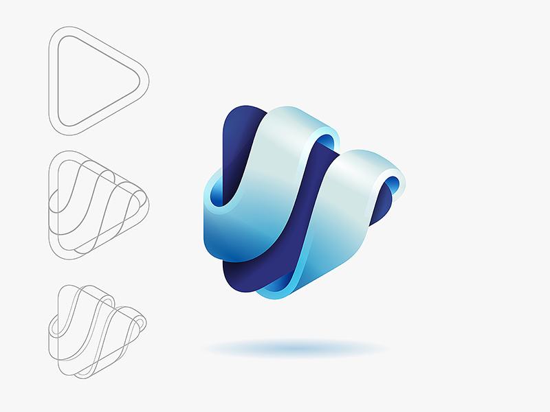 酷炫金属!10款Yoga风格Logo设计